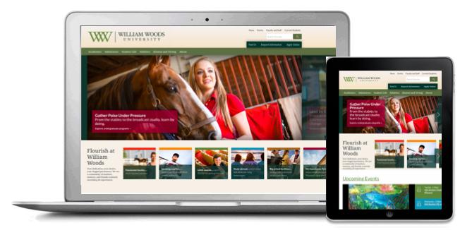 William Woods Responsive Website Design