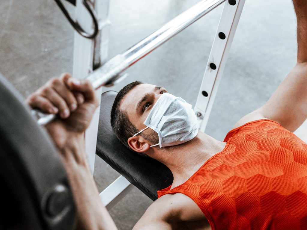 athletic training in coronavirus
