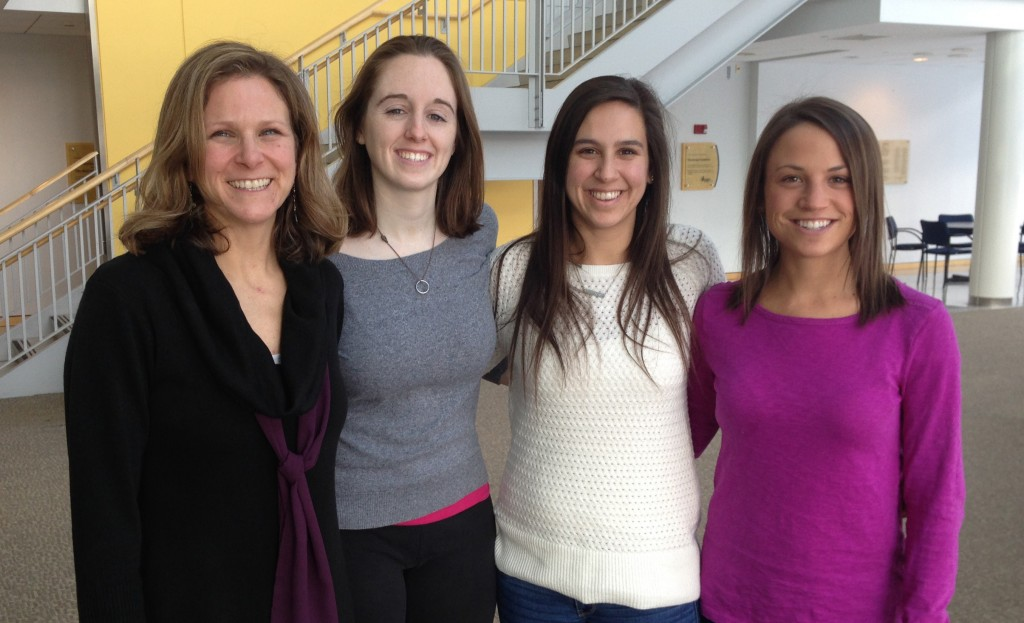 Dr. Michele Lemons, Biology Professor with Students