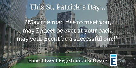 Online Event Registration for St. Patrick's Day festivals