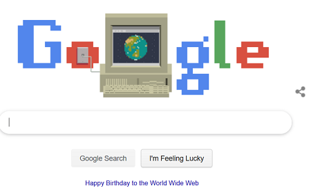happy Birthday World Wide Web