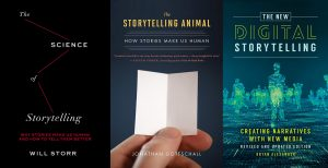 How to Tell Stories in the Digital World – 3 Books on Digital Storytelling