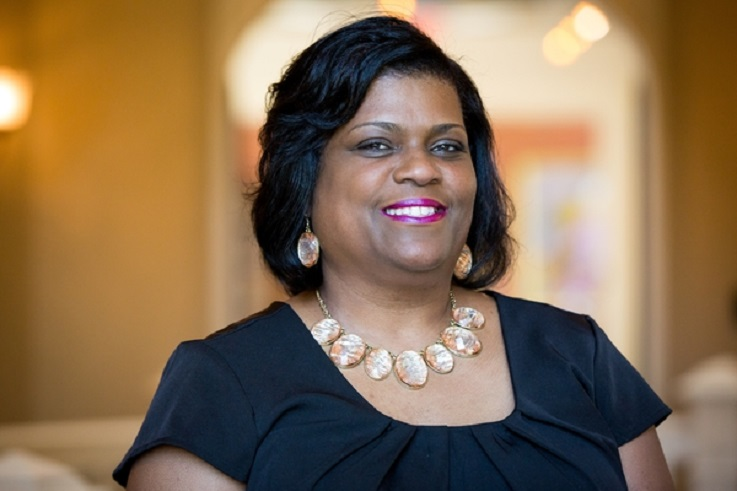 Social work program faculty member Lisa Glenn