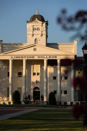 Limestone College Gaffney, South Carolina location offering programs like social work
