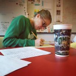 Copywriter @eleemccarthy is hard at work today in her @ohio.university…