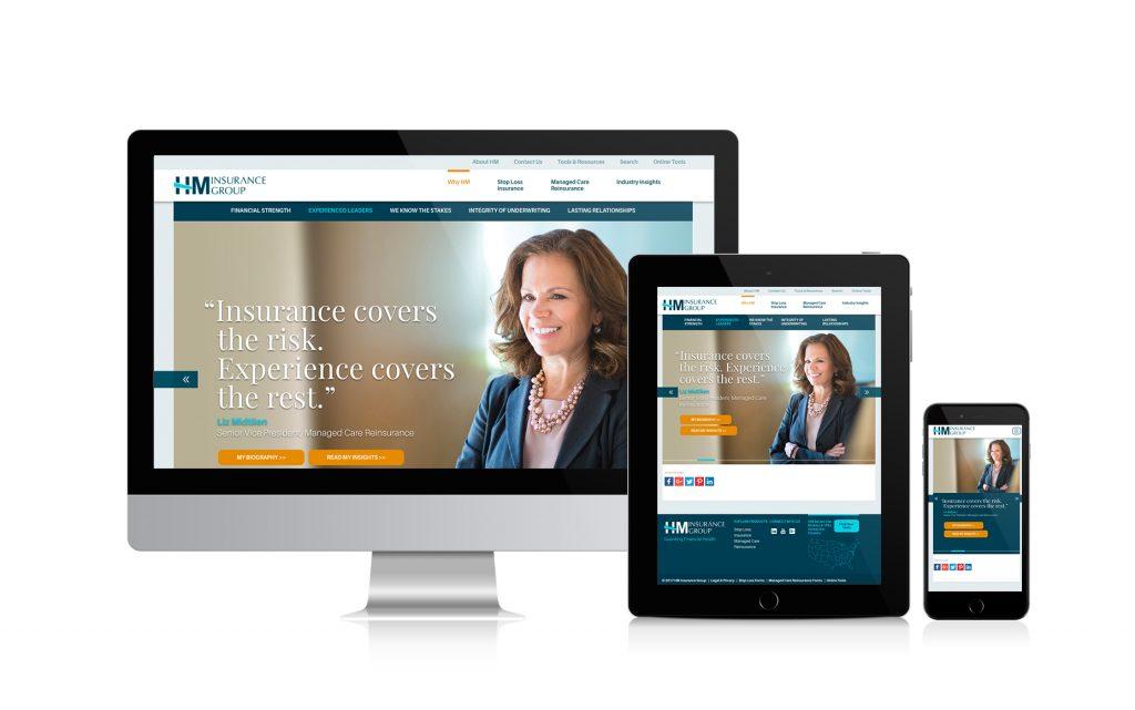 HM Insurance Group Website Design