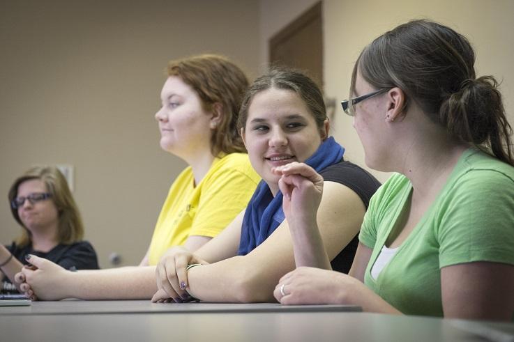 ASL educational interpreter in the classroom